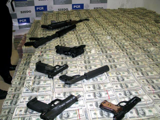 2007 raid guns and dollars