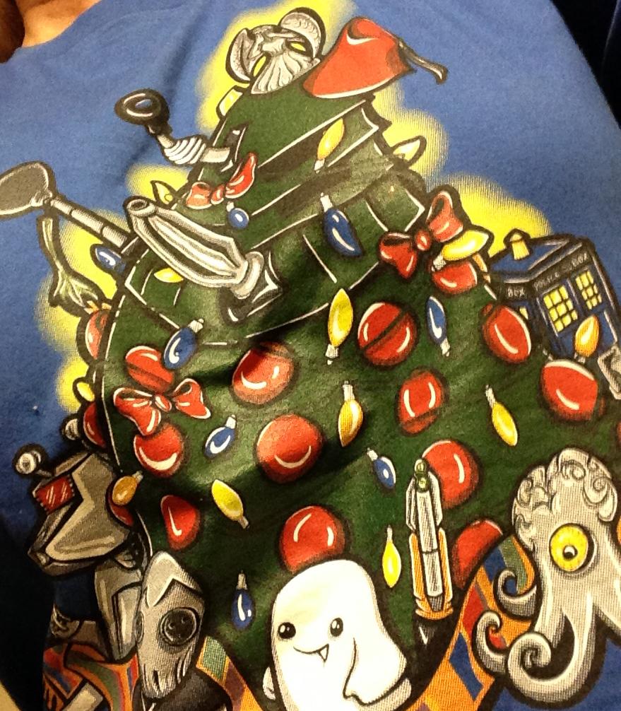 doctor who christmas tshirt