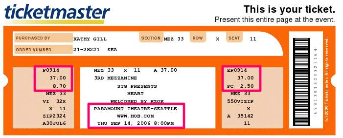 Ticketmaster Customers: Check Your Spam Folder - WiredPen