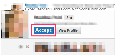Edited LinkedIn Invitation