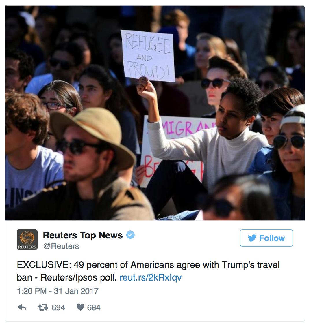 Reuters tweet
